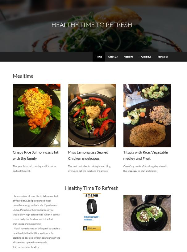 Healthy Refresh Weebly